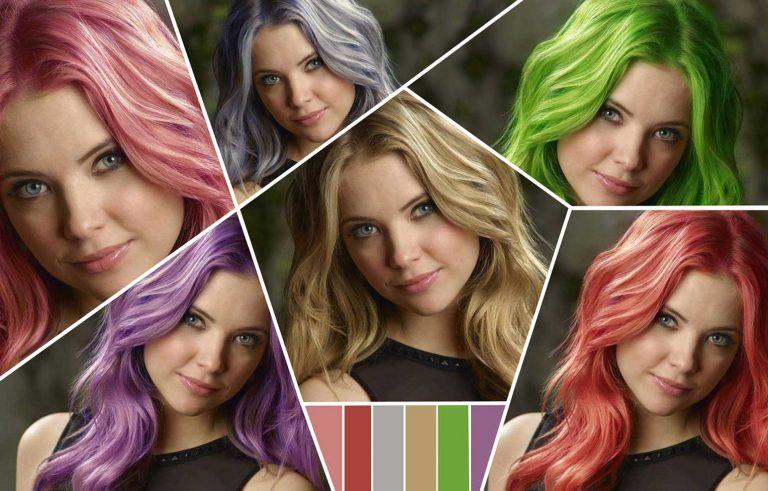 Mozeme da ja promenime bojata na vasata kosa - Graficki dizajn, Можеме да ја промениме бојата на вашата коса