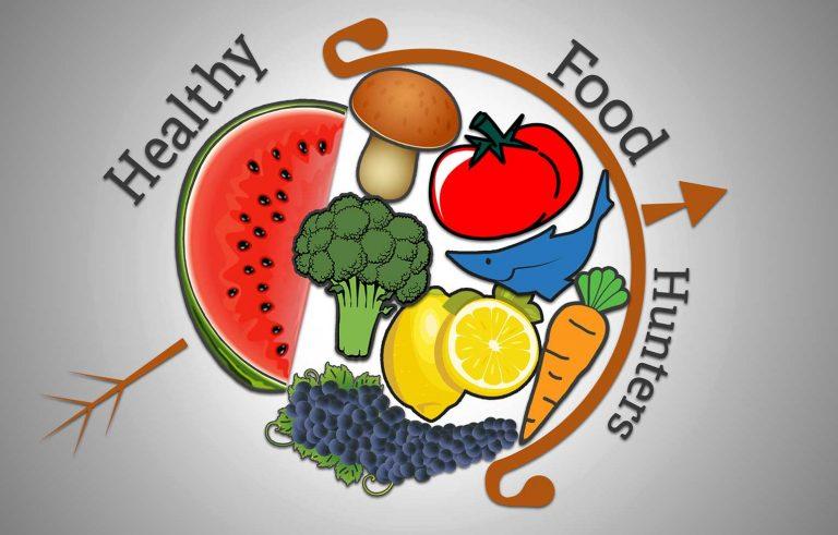 reklamna fotografija za Healty Food Hunters - Graficki dizajn Рекламна фотографија за Хелти Фуд Хантерс - Графички дизајн